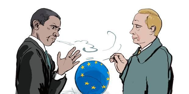 De l'Ukraine aux élections européennes - La Libre