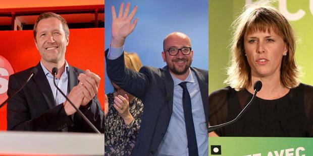 Wallonie: Le PS en recul, le MR en embuscade, Ecolo en chute libre - La Libre