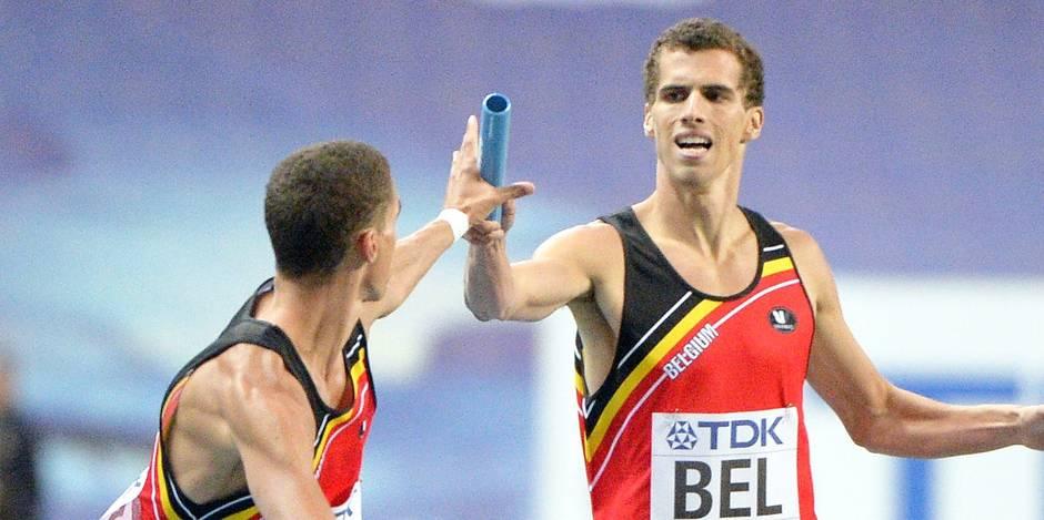Les trois frères Borlée de nouveau au départ sur 400 m