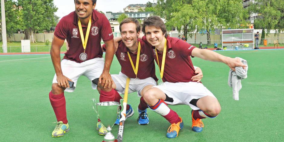 Trois Belges champions de Suisse