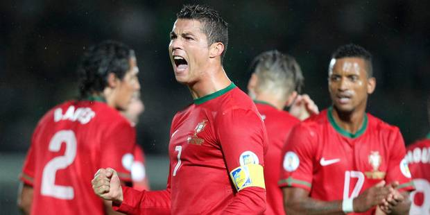 Portugal: Ronaldo touché aussi au genou gauche - La Libre