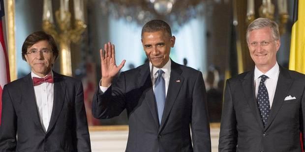 """Di Rupo à Obama: la Belgique est un allié fiable et """"le restera"""" - La Libre"""