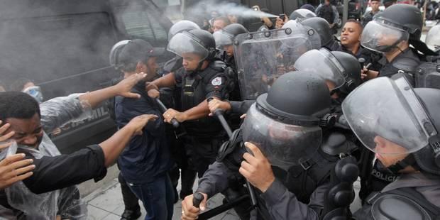 Mondial 2014: Les violences policières au Brésil préoccupent Amnesty International - La Libre