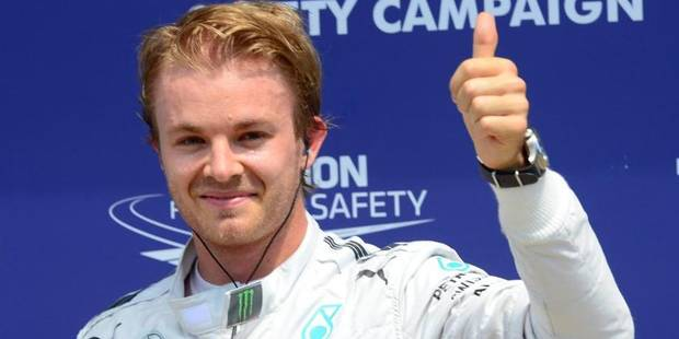 GP du Canada: Rosberg décroche la pole - La Libre
