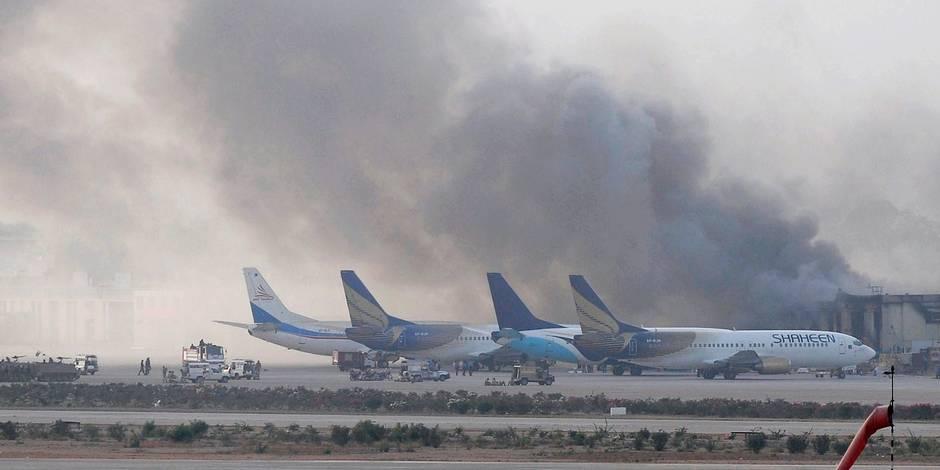 28 morts dans l'attaque commando contre le principal aéroport du Pakistan