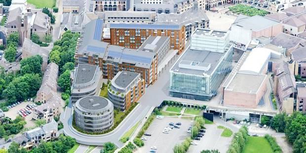 Une résidence de luxe en plein centre de Louvain-la-Neuve? - La Libre