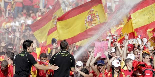 C'est mathématique, l'Espagne va gagner le Mondial! - La Libre