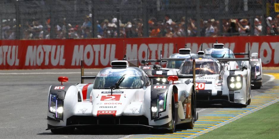 Audi remporte les 24 Heures du Mans auto