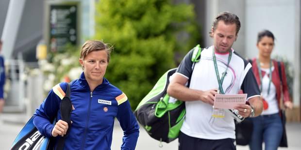 Xavier Malisse n'est plus le coach de Kirsten Flipkens - La Libre