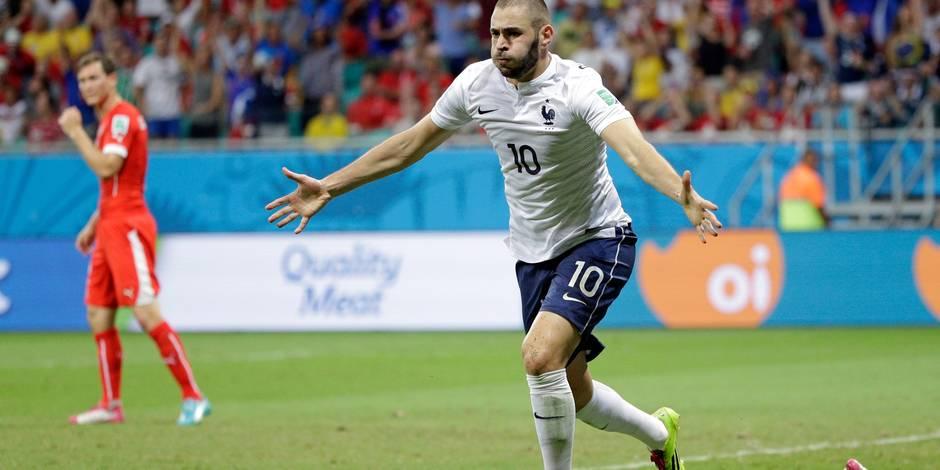 Mondial: la France écrase la Suisse (2-5)