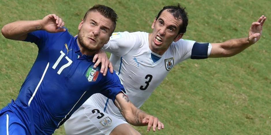 L'Uruguay botte l'Italie (0-1)