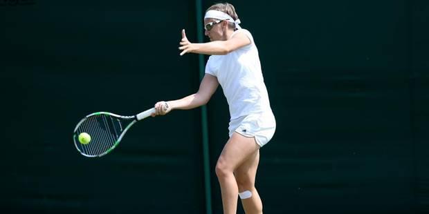 Wimbledon: Kirsten Flipkens qualifiée - La Libre
