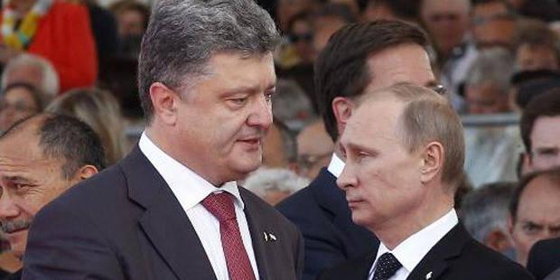 """Porochenko: """"Je suis prêt à faire la paix avec tout le monde"""""""
