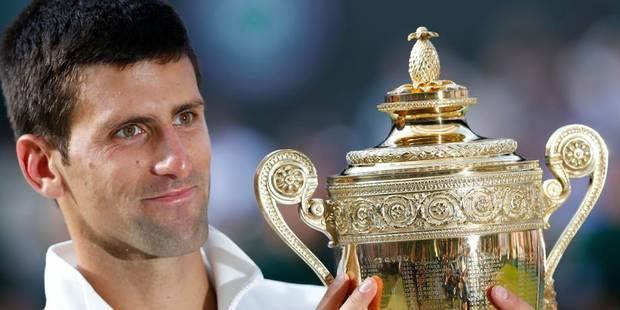 """Djokovic: """"Merci à Roger de m'avoir laissé gagner"""" - La Libre"""