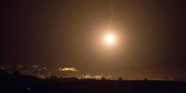 Gaza: Intensification des roquettes palestiniennes et des raids israéliens - La Libre