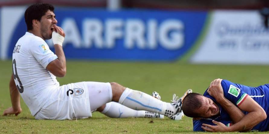 Morsure de Luis Suarez: la Fifa rejette les appels du joueur et de la fédération uruguayenne