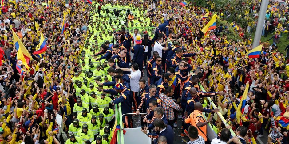 Colombie: après le Mondial, les supporters paient leurs dettes