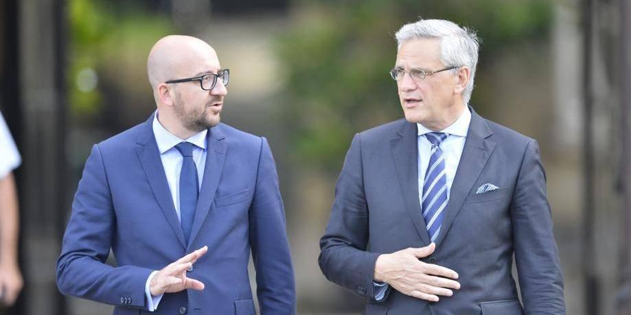Kris Peeters et Charles Michel nommés formateurs du gouvernement fédéral