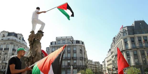 Manifestation pro-palestinienne à Bruxelles: entre 2.500 et 3.000 personnes - La Libre