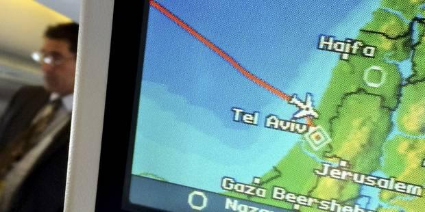 Un vol Air Canada retardé par des roquettes à Tel-Aviv - La Libre