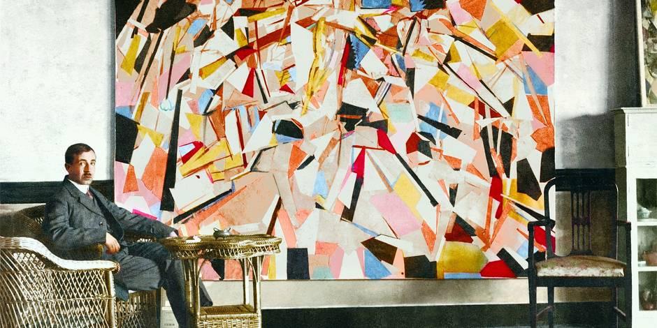 Paul Joostens, abstrait cubiste et figuratif irrévérencieux - La Libre