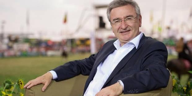 Le ministre cdH René Collin, cumulard en chef du gouvernement wallon - La Libre