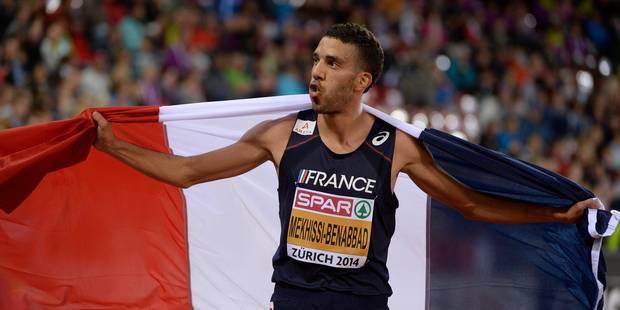 Comment le Français Mekhissi a perdu sa médaille d'or - La Libre