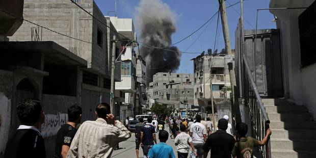Conflit à Gaza: un Belge blessé par une roquette - La Libre