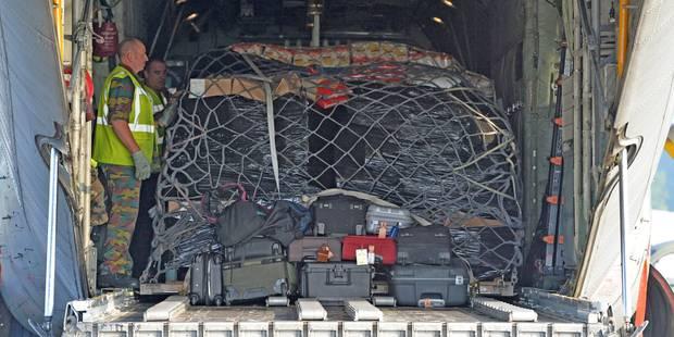 Un C-130 belge en route vers l'Irak avec 13 tonnes d'aide humanitaire - La Libre