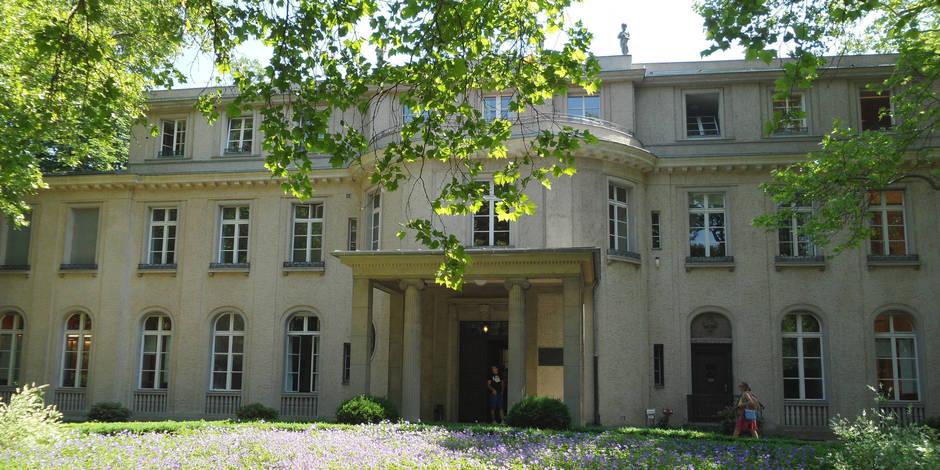 Wannsee, une villa au bord du lac