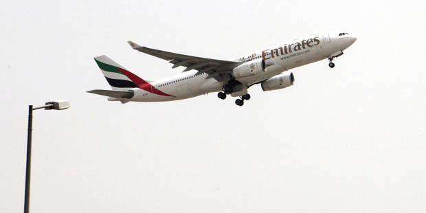 Le premier vol Emirates accueilli en grande pompe à Brussels Airport - La Libre