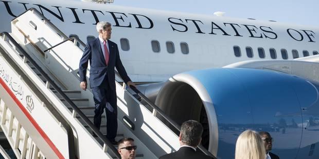 John Kerry en visite non annoncée à Bagdad - La Libre