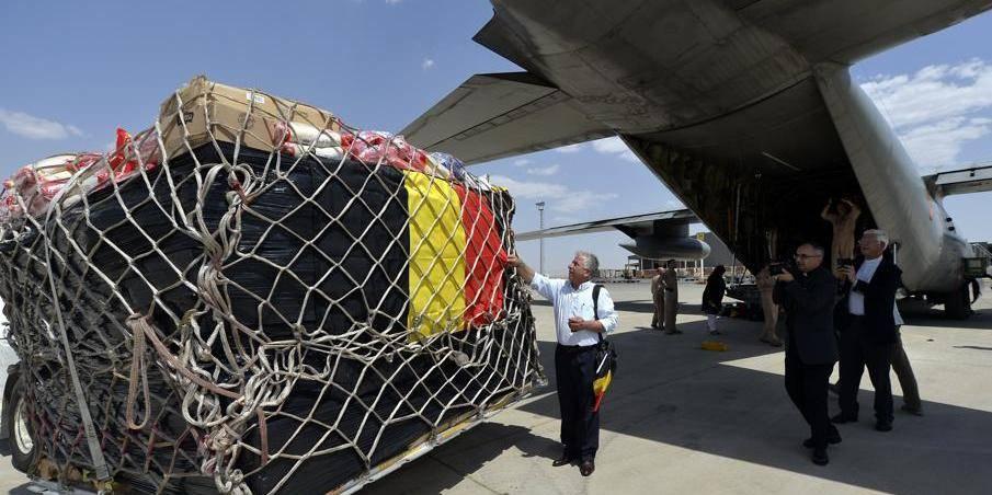 Irak: Où est passée la cargaison du C-130 belge? - La Libre