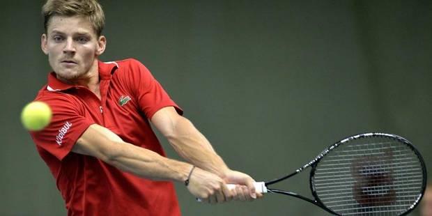 Coupe Davis: la Belgique revient à 1 partout grâce à Goffin - La Libre