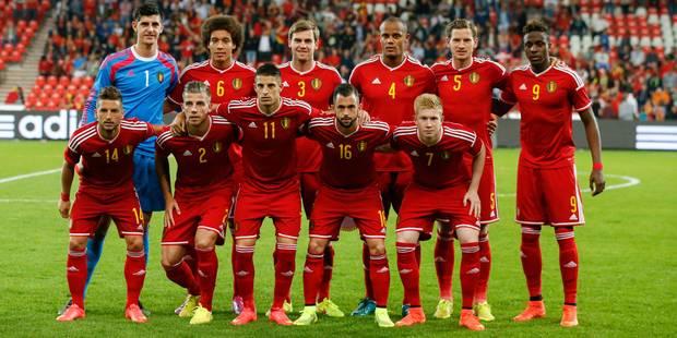 La Belgique toujours à la 5e place du classement FIFA - La Libre