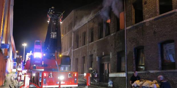 Deux blessés graves et six légers dans un incendie à Huy - La Libre