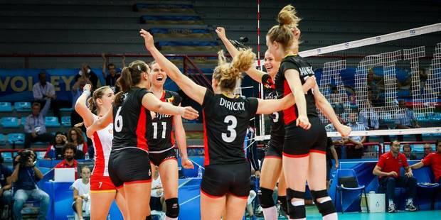 Mondial de volley: les Yellow Tigers battent l'Azerbaïdjan et restent en course pour la qualification - La Libre