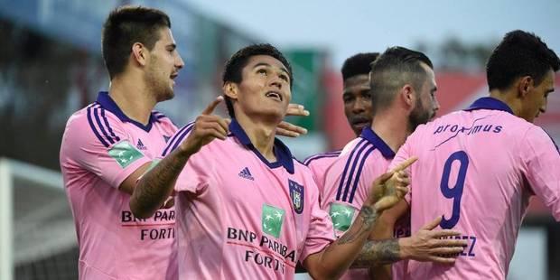 Anderlecht déroule face à Zulte (0-2) - La Libre