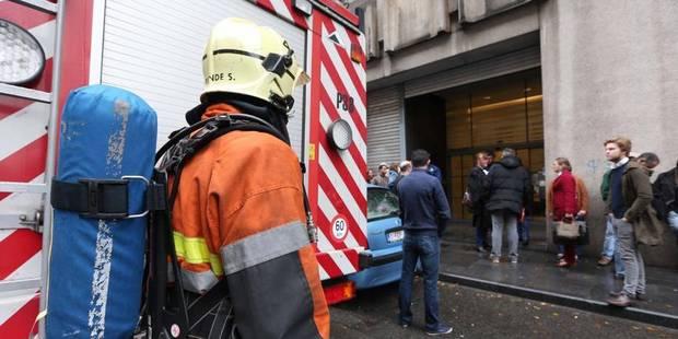 Alerte à la bombe levée au tribunal de police de Bruxelles - La Libre