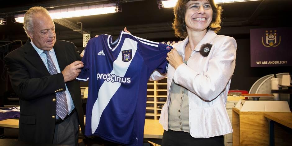 Un nouveau logo pour Anderlecht en Ligue des champions