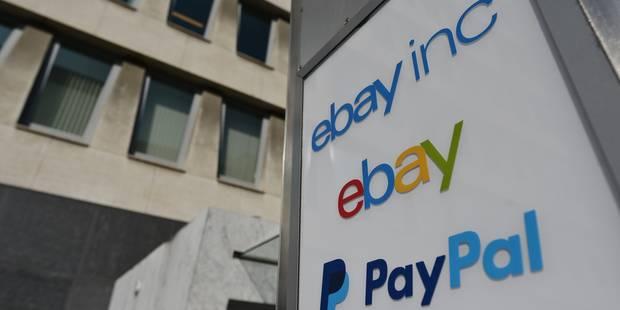 eBay et PayPal, bientôt deux sociétés indépendantes - La Libre