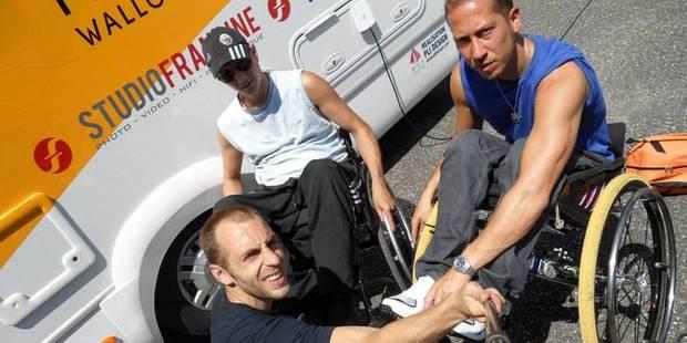 Documentaire sur la RTBF: Emmanuel Deroubaix au service de deux handicapés - La Libre
