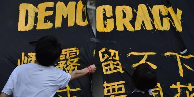 A Hong Kong, les protestaires se préparent à manifester plus nombreux que jamais - La Libre