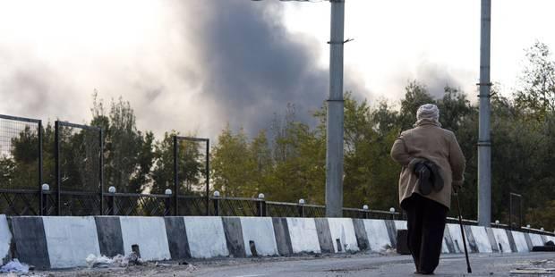 Ukraine: le centre de Donetsk bombardé pour la première fois depuis la trêve - La Libre