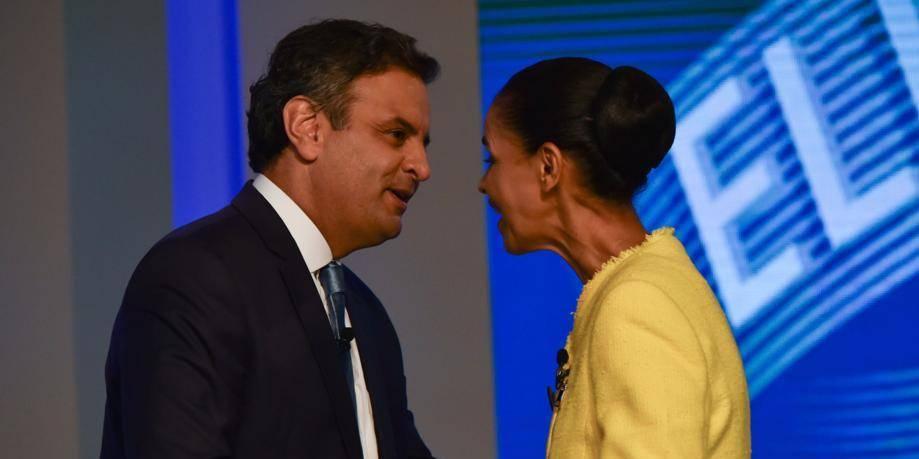 Élections Brésil: Aecio Neves dépasse Marina Silva, l'Obama brésilienne