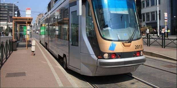 Bruxelles: circulation des trams interrompue sur les lignes 25 et 62 - La Libre