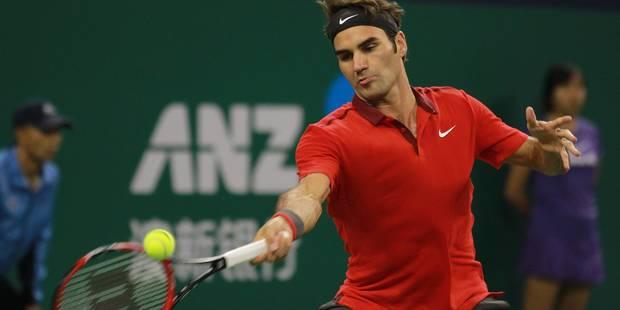 ATP Shanghai : nouveau tête-à-tête entre Djokovic et Federer - La Libre