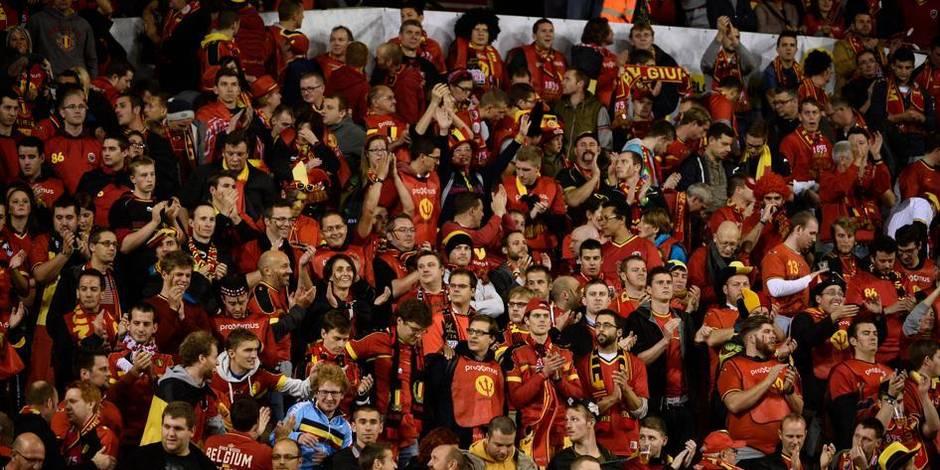 Deux supporters interpellés lors du match Belgique-Andorre