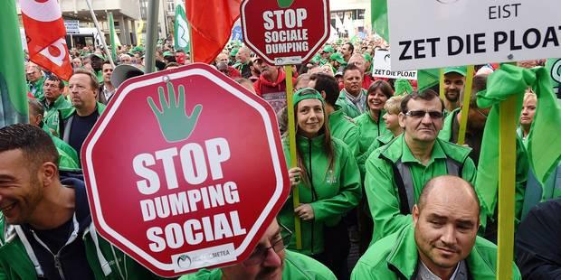 Riposte et calendrier syndical: manifestations, actions, grève générale le 15 décembre,... - La Libre