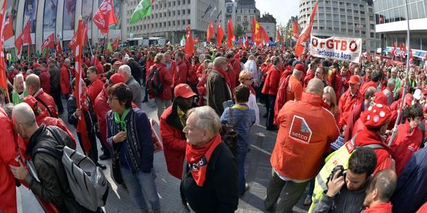 """Menace de grèves : """"Un jeu dangereux qui n'a jamais créé d'emploi supplémentaire"""" - La Libre"""